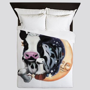 Cow Jump Over the Moon Queen Duvet