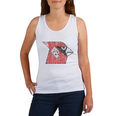 Red Rage Faded Women's Tank Top