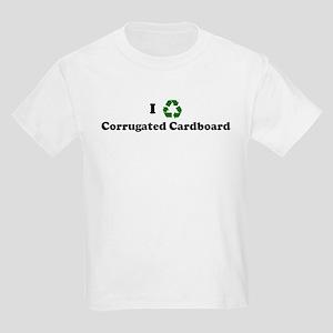 I recycle Corrugated Cardboar Kids T-Shirt