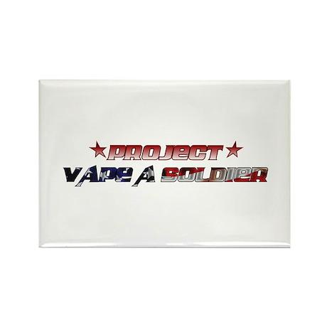 Project Vape a Soldier 2012 Rectangle Magnet