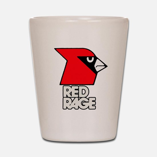 Red Rage Shot Glass