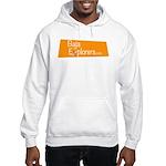 Baja Explorers.com logo badge Hooded Sweatshirt