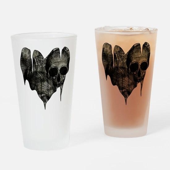Bleak Heart Drinking Glass