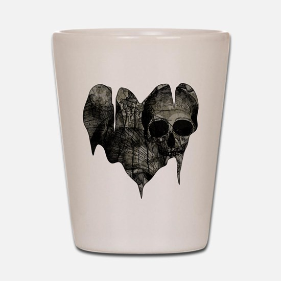 Bleak Heart Shot Glass