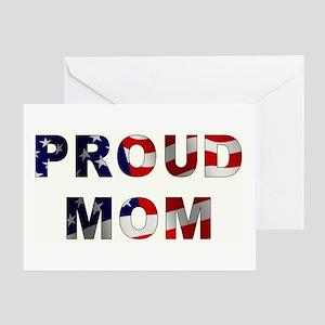 PROUD MOM Greeting Card