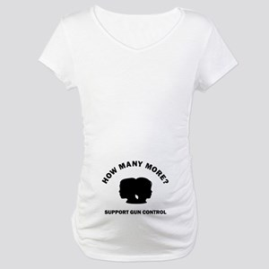 How Many More Maternity T-Shirt
