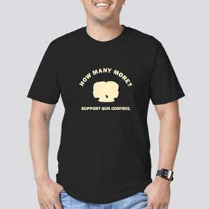 How Many More Men's Fitted T-Shirt (dark)