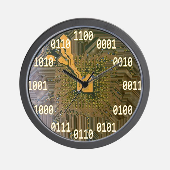 Cute Time software computers download alpaca Wall Clock