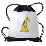 airedale-terrier Drawstring Bag