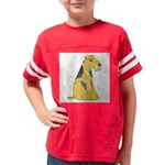 airedale-terrier Youth Football Shirt