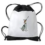 American Foxhound Party Drawstring Bag