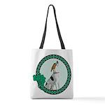 Irish American Foxhound Polyester Tote Bag