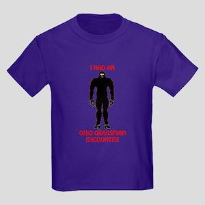 big foot2 Kids Dark T-Shirt