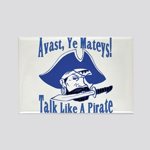 Talk Like A Pirate Rectangle Magnet