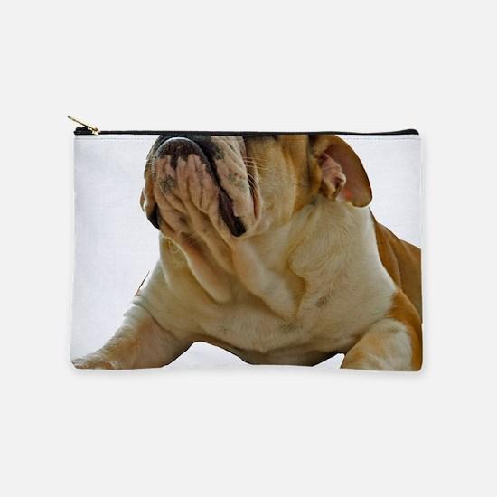 Bulldog Photo Makeup Pouch