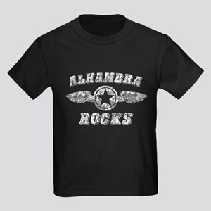 ALHAMBRA ROCKS Kids Dark T-Shirt