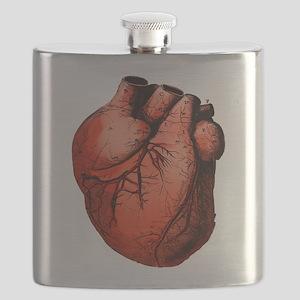 Human Heart Flask