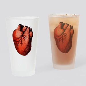 Human Heart Drinking Glass