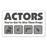 Props Sticker (Rectangle 10 pk)