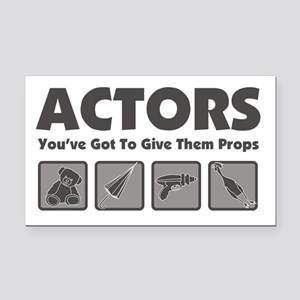 Props Rectangle Car Magnet