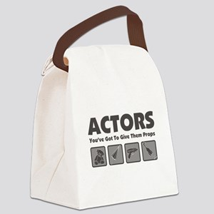 Props Canvas Lunch Bag