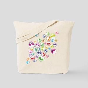 Jumble Of Sugar Skulls Tote Bag
