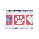 FIN-french-bulldog-pawprints.png Makeup Pouch