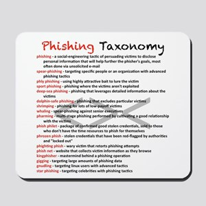 Phishing Taxonomy Mousepad
