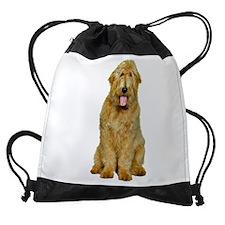 Goldendoodle Photograph Drawstring Bag