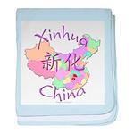 Xinhua China baby blanket