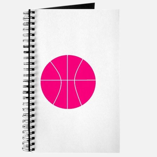 pink basketball Journal