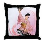 Pink Girl- Throw Pillow
