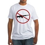 Ban Assualt Weapons Fitted T-Shirt