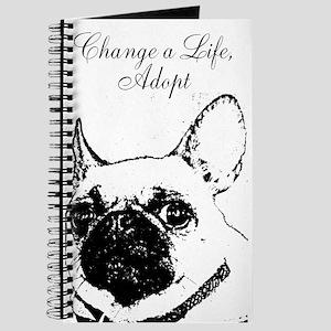 """Change a Life, Adopt"" Dunkie Journal"