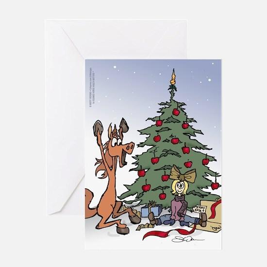 Kid for Christmas Greeting Card