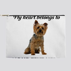 Personalized Silky Terrier Makeup Pouch