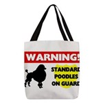 Standard Poodle T-Shirts Polyester Tote Bag