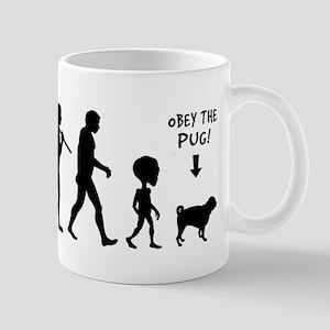 Pug EVOLUTION - Coffee Mug