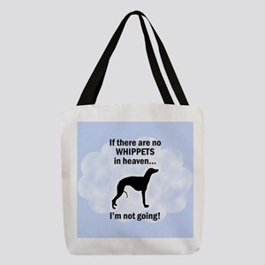 FIN-whippets-heaven.png Polyester Tote Bag