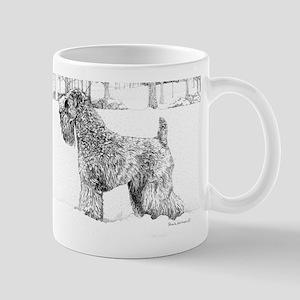 Snow dog Mug