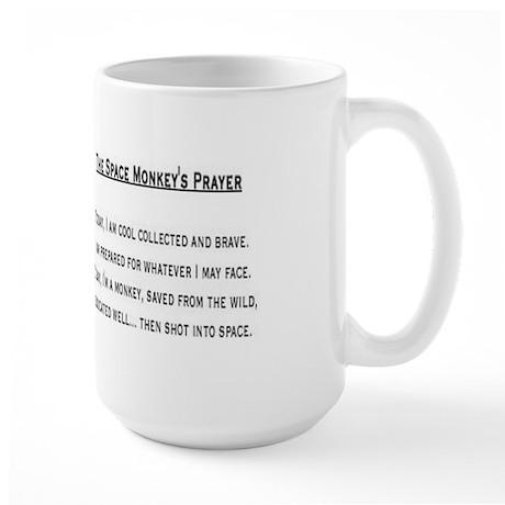 Old School Space Monkey Mug