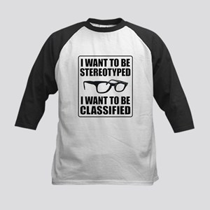 I WANT TO BE STEREOTYPED / CLASSIFIED Kids Basebal