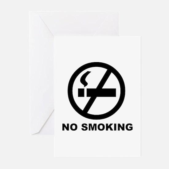 No Smoking Greeting Cards (Pk of 10)