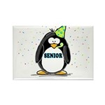 Senior Party Penguin Rectangle Magnet (10 pack)