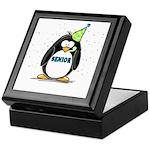 Senior Party Penguin Keepsake Box