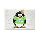Senior 2007 Party Penguin Rectangle Magnet (100 pa