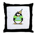 Senior 2007 Party Penguin Throw Pillow