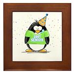 Senior 2007 Party Penguin Framed Tile