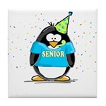 2007 Senior Party Penguin Tile Coaster