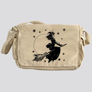 Old Fashioned Witch Messenger Bag
